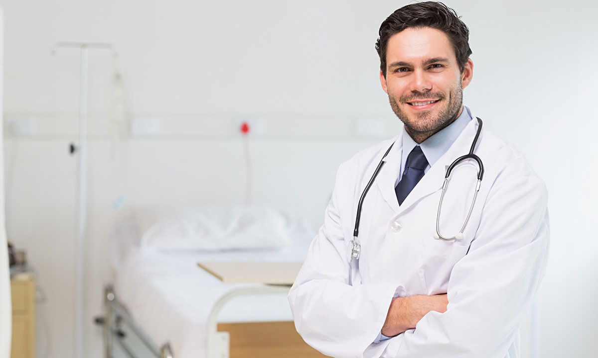 Image of physician for Career Fair section